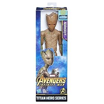 Marvel Infinity War Titan Hero Series Groot with Titan Hero Power FX Port