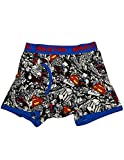 Superman - Mens Superman Boxer Briefs, Multi 36297-Medium