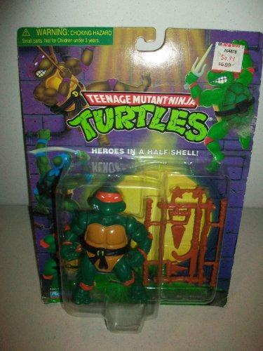 (Playmates Teenage Mutant Ninja Turtles 1987 Michelangelo Action Figure)