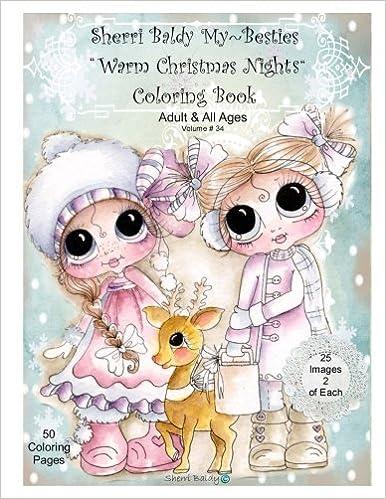 Amazon Sherri Baldy My Besties Warm Christmas Nights Coloring