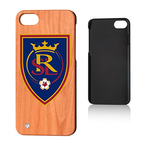 Keyscaper MLS Real Salt Lake Insignia Cherry Case for iPhone 8/7, Wood by Keyscaper