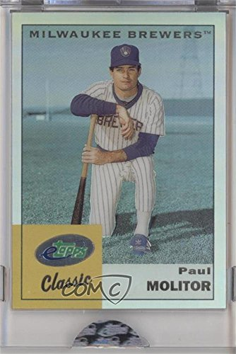 Paul Molitor Manufacturer ENCASED Uncirculated (Baseball Card) 2004 eTopps Classic - [Base] #ETC47