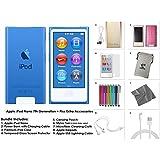 Apple iPod Nano 16GB Blue with Accessories (8th Generation)