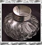 Laban Glass Inkwell Round