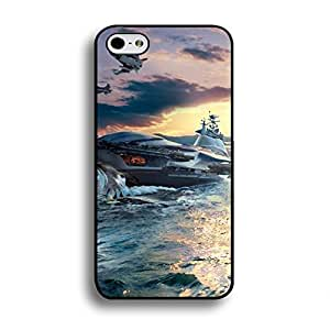 Iphone 6 Plus/6s Plus 5.5 Inch Exquisite Mysterious Design Fashion Distinctive Warship Cover Case For Iphone 4/4s The Most Pleasing Warship Series Phone Case