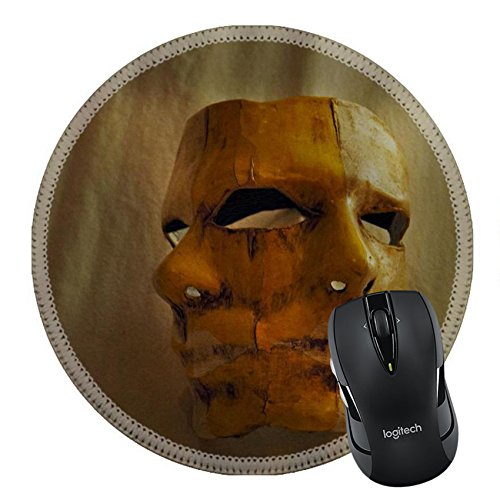 Carnival Costumes Rio (MSD Mousepad Round Mouse Pad/Mat 23987970 handmade mask for carnival celebration)