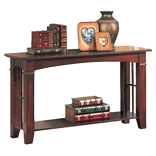 hot sales 6d548 ca67a Amazon.com: Console Table Made of Wood Veneers and Solids ...