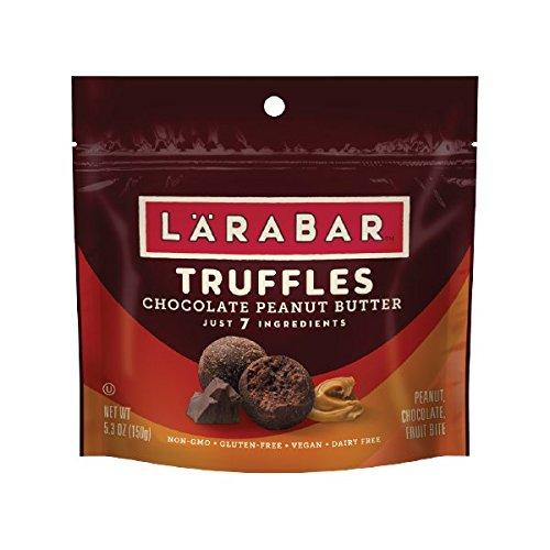 LARABAR Truffles, Chocolate Peanut Butter, 5.3 oz. (1 Pouch)