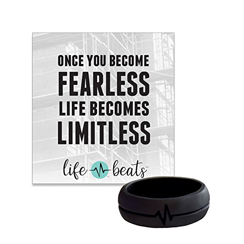Lifebeats Fearless Silicone Ri