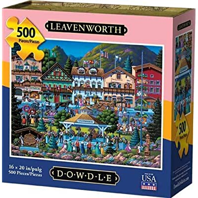 Dowdle Jigsaw Puzzle - Leavenworth - 500 Piece: Toys & Games