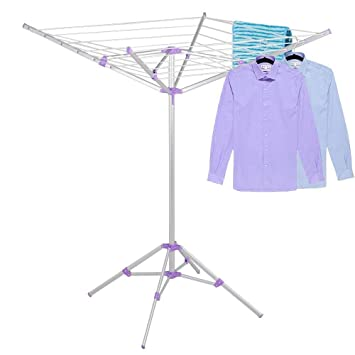 Wonderful Yaheetech Portable Umbrella Dryer Rack Folding Drier Four Legs Umbrella  Shaped Clothes Dryer For Camping,