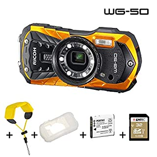 Compact Waterproof WG-50 Orange Pack