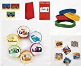 Race Car Party Favor Set