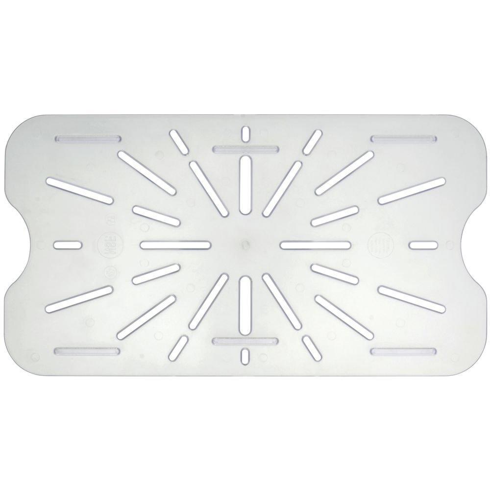 Drain Shelf for Cold Food Pans Translucent Drain Shelf, Full Size