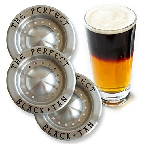The Perfect Black and Tan Beer Layering Tool - 3 Pack (Tan Turtle)