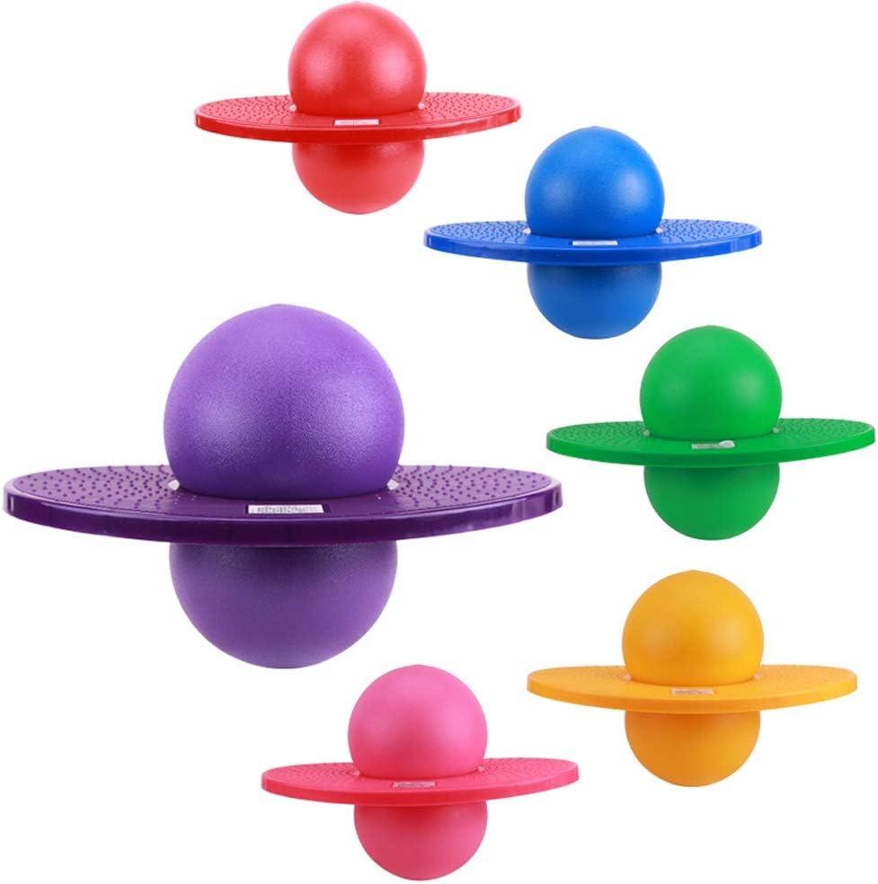 Color : Blue Inviare Pompa Grande Gaorb A Prova di Esplosione Addensare Fitness Palla//Adulti Salto Sfera//Bambini Bouncing Ball//Lolo Sfera//Rock N Hopper//Pogo Sfera