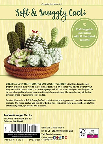 Mother's Day Cactus (Free Crochet Pattern) - Sweet Softies ...   500x357