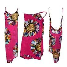 Cheap Women's Multifunction Summer Beach Dress Towel Swimwear Bath Costume