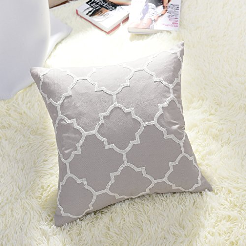 Embroidery Decorative Pillow - 4