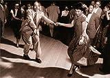 Harlem Swing Dancing - Avanti America Collection Birthday Card