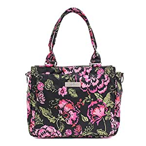 Ju-Ju-Be Classic Collection Be Classy Structured Handbag Diaper Bag, Blooming Romance