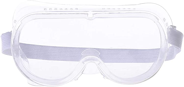 1PC Clear Vented Safety Anti Fog Goggles Glasses Eye Protection Lab Labor Great