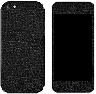 product image for Slickwraps Leather Collection Protective Film for iPhone 5c - Black Alligator - Skin - Retail Packaging - Black Alligator