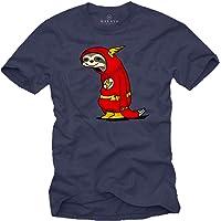 MAKAYA Camiseta Divertida Gym - Flash el Perezoso