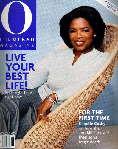Oprah Winfrey O Magazine May/June 2000 Premiere Issue - Live Your Best Life!