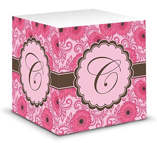 Gerbera Daisy Sticky Note Cube (Personalized)