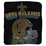 "New Orleans Saints Lightweight Fleece Blanket (Measures Approx. 50"" x 60"")"