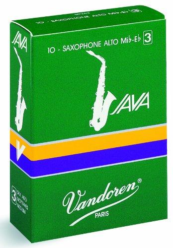 Vandoren Java Red Alto Saxophone Reeds #3, Box of 50