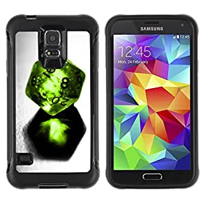 Suave TPU GEL Carcasa Funda Silicona Blando Estuche Caso de protección (para) Samsung Galaxy S5 V / CECELL Phone case / / Design Dice /