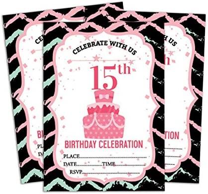 Darling Souvenir Tarjeta de Invitación Blanca del cumpleaños ...