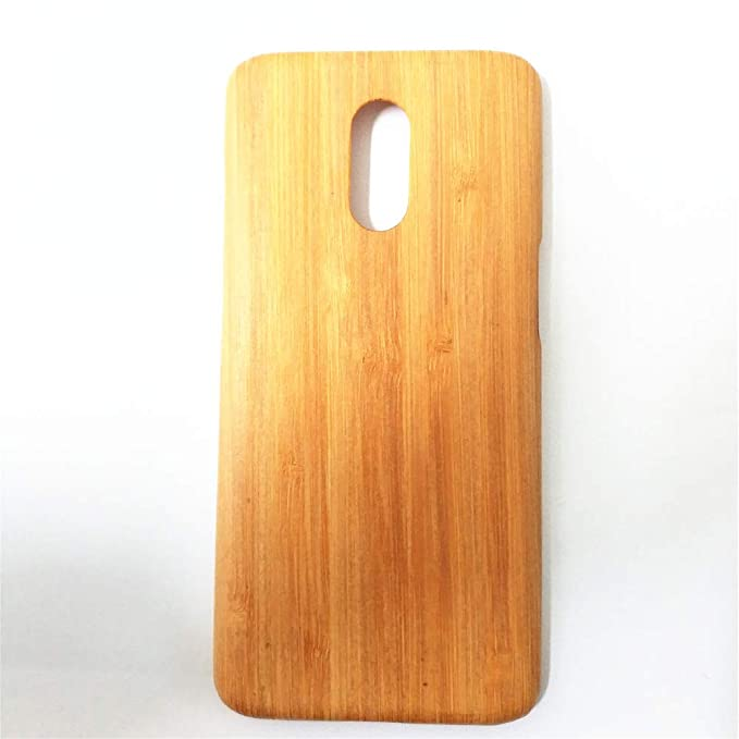 new style 365e1 a6915 OnePlus 6T Bamboo Case,DAYJOY Luxury Ultra Thin Ultra Light Genuine Real  Bamboo Shockproof Hybird case Cover for OnePlus 6T(B)