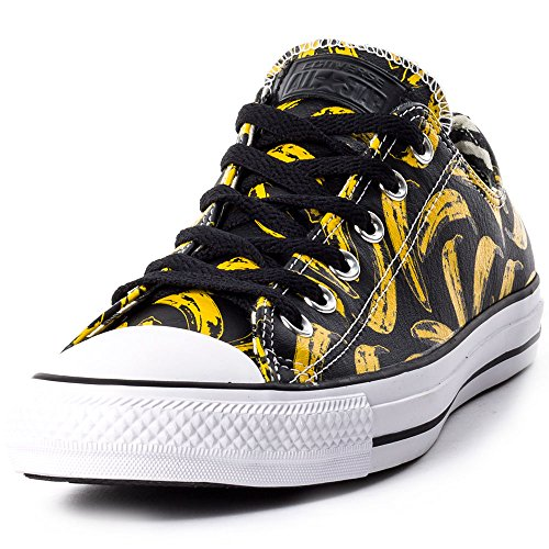 Converse All Star Prem Ox Warhol - Zapatillas Unisex adulto Gris / Amarillo