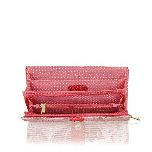 Ruby Shoo - Zapatos de vestir de Poliéster para mujer Rosa coral Talla única