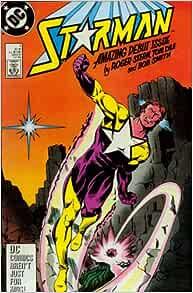 Amazon.com: Starman #1 [Origin and 1st Appearance of Starman (Will Payton)]: Roger Stern, Tom Lyle, Bob Smith, Julianna Ferriter: Books