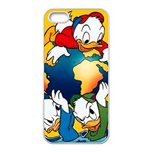 iPhone 5 5s Cell Phone Case White House of Mouse Character April Duck ukis