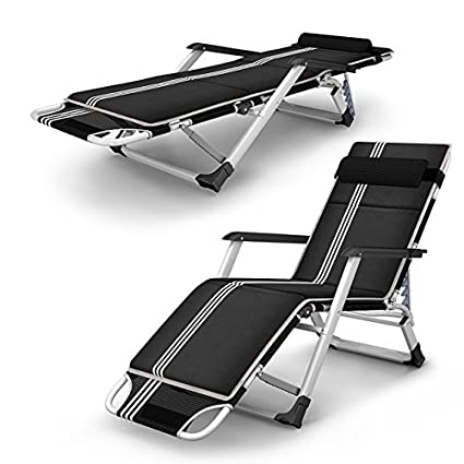 ZLJTYN Lounge Chairs, DECK Chairs, Outdoor Folding Reclining Chair  Sitting/Laying Deck Chair