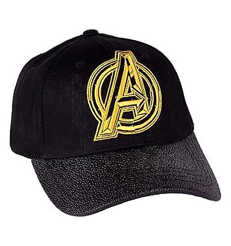 découvrir les dernières tendances marque populaire outlet Marvel Casquette Infinity Wars-Logo Avengers visière, Multicolore  Multicouleur, (Taille Fabricant:Taille Unique) Mixte