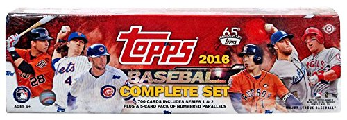 Complete Factory Set (HOBBY version, 700 Cards from Series 1 & 2 plus 5 bonus cards per set) (Topps Factory Set Baseball)