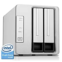 Noontec-TerraMaster NAS Server Intel Dual-Quad Core 2.0GHz 2GB-4GB RAM (RAM Upgradable) Network RAID Storage for Small/Medium Business (Diskless)