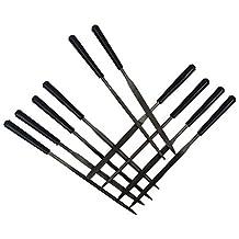 MonkeyJack Professional Guitar Frets Nut Maintenance Tools Grinding Tools File Group 10 Set
