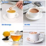 30 PCS Mini Wood Honey Dipper Sticks, 3 Inch Server for Honey Jar Dispense Drizzle Honey
