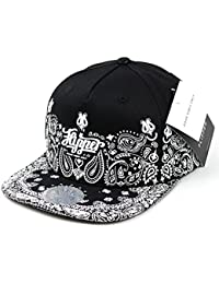 Flipper Rubber Paisley Flat Brim Bill Womens Mens Baseball Cap Hip Hop Snapback Hat