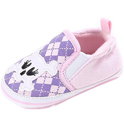 Fire Frog Baby Loafer Shoes - Zapatos primeros pasos para niño Rosa