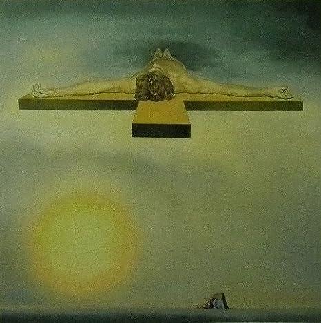 El Cristo de gala (1978) - Salvador Dali - cuadro con marco - 11 x 14: Amazon.es: Hogar