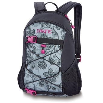 Amazon.com: Dakine Girls Wonder Pack, Black/Lace Floral: Clothing
