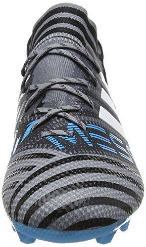 Adidas Nemeziz Messi 17.1 FG, Zapatillas de Fútbol Unisex Niños Gris (Gris / Ftwbla / Negbas 000)